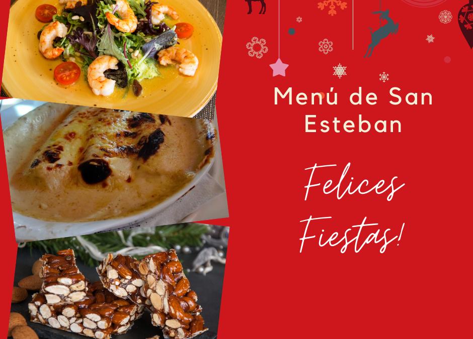 Menú de San Esteban 2020